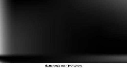 Natural Horizontal Gradient Mesh. Grey Alluminium Horizontal Gradient Mesh. Vibrant Blurred Texture Illustration. Monochromatic  Blank Trendy Background. Silver Metallic Horizontal Lines Backdrop.