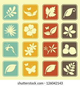 Natural Leafs Icon Set