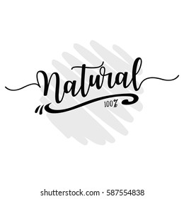 natural lettering overlay set. Calligraphy photo graphic design element. Sweet cute inspiration typography.