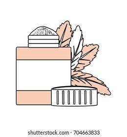 Natural medicine bottle