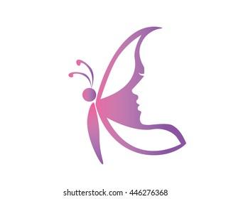 Natural Organic Beauty Logo - Luxury Skin Aesthetics Clinic Symbol