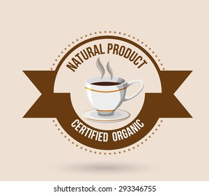 Natural product digital design, vector illustration eps 10.