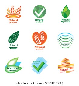 Natural product set logo