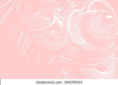 Natural soap texture. Adorable millenial pink foam trace background. Artistic elegant soap suds. Cleanliness, cleanness, purity concept. Vector illustration.