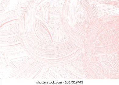 Natural soap texture. Amazing millenial pink foam trace background. Artistic valuable soap suds. Cleanliness, cleanness, purity concept. Vector illustration.