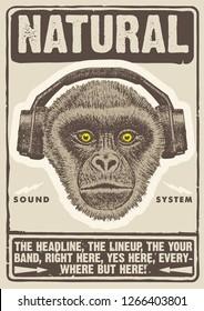 Natural Sound Gig  Poster Flyer Template