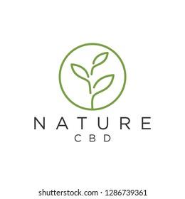 Nature cbd logo