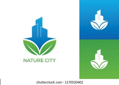 NATURE CITY LOGO DESIGN