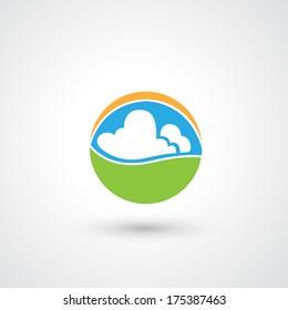 nature eco icon
