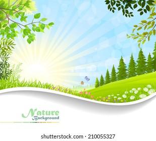 Nature Fantasy: Natural Tranquility
