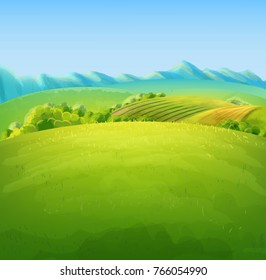 nature illustration for farm product