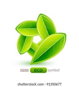 Nature leaf concept