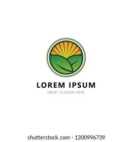 Nature Logo Design minimalis