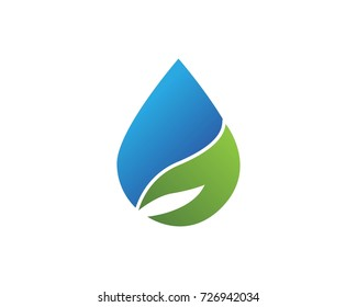 Nature logo design template