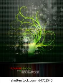 Nature Magic   Flourish Fantasy   EPS10 Compatible Vector File