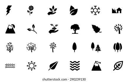 Nature Vector Icons 4