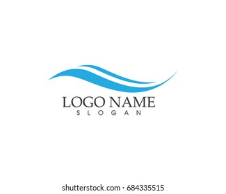 Nature Wave Logo Design