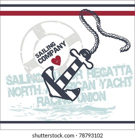 Nautical Illustrations set