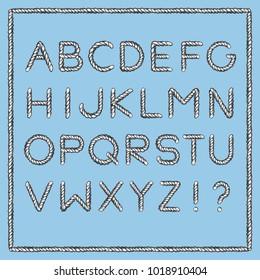 Cord Font Stock Vectors, Images & Vector Art | Shutterstock