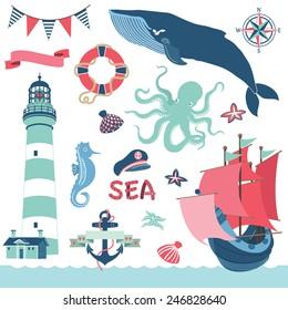 Nautical Sea Elements