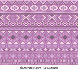 Navajo american indian pattern tribal ethnic motifs geometric seamless background. Vintage native american tribal motifs textile print ethnic traditional design. Navajo symbols fabric print.