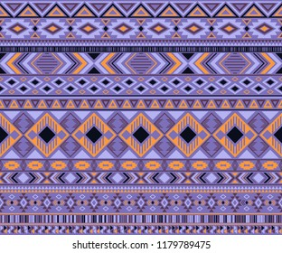 Navajo american indian pattern tribal ethnic motifs geometric vector background. Cute native american tribal motifs textile print ethnic traditional design. Navajo symbols fabric pattern.