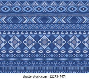 Navajo american indian pattern tribal ethnic motifs geometric vector background. Impressive native american tribal motifs textile print ethnic traditional design. Peruvian folk fashion.