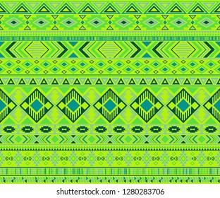 Navajo american indian pattern tribal ethnic motifs geometric vector background. Impressive native american tribal motifs clothing fabric ethnic traditional design. Navajo symbols fabric pattern.