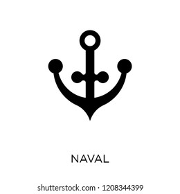 naval icon. naval symbol design from Army collection.