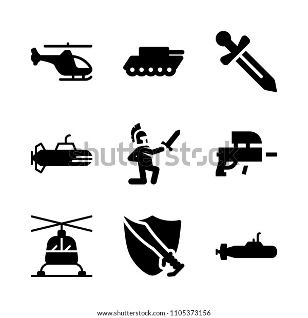 Naval Training Transport Icon Icons War Stock Vector