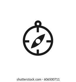 Navigation Icon Badge Vector