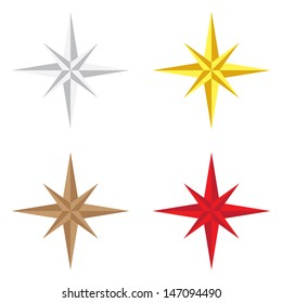 Navigation star icon