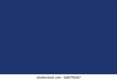 Navy blue fabric, textile background.Modern abstract texture.EPS10 Illustration.