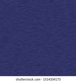 Navy Blue Heather Marl Seamless Repeat Vector Pattern Swatch.  Blue knit t shirt fabric texture.