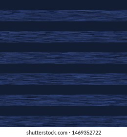 Navy Blue Marl Heather Triblend Melange Seamless Repeat Vector Pattern Swatch.  Kit t-shirt fabric texture. Stripe.