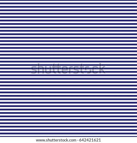 1ef8bc25831 Navy Blue White Horizontal Stripes Seamless Stock Vector (Royalty ...