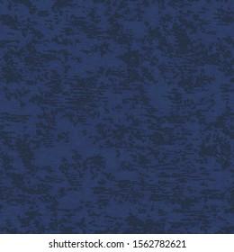 Navy Velvet Fabric Seamless Vector Illustration
