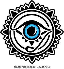 Nazar - protection amulet - eye of providence - all seeing eye