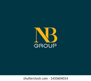 NB Group  Monogram business special logo design
