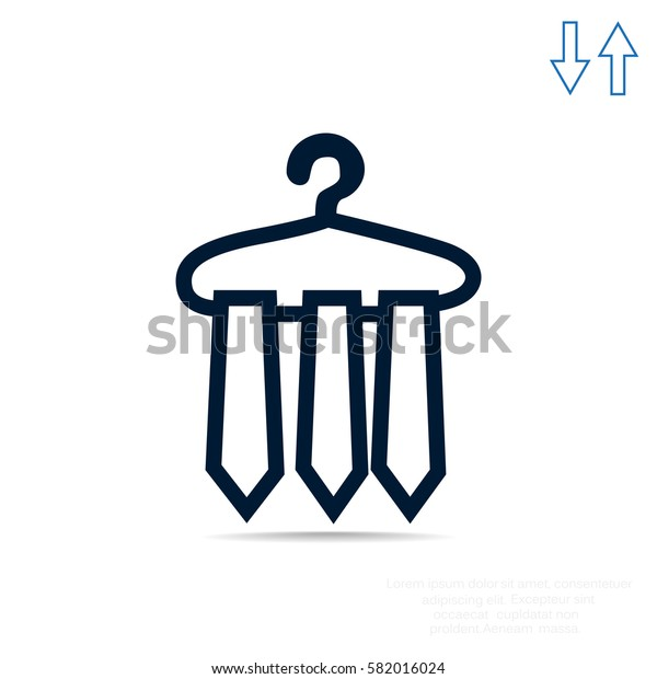 Necktie Icon Vector.