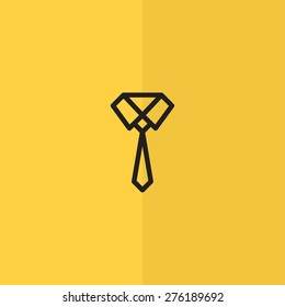 Necktie icon. vector design