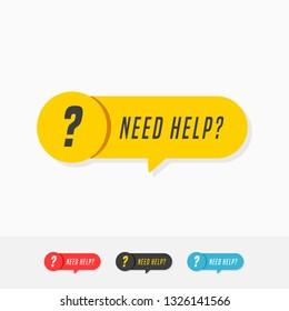 Need Help Tags