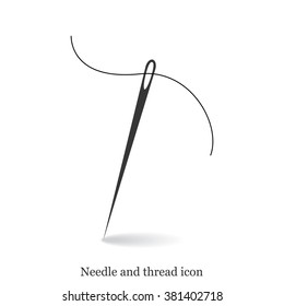 Needle with thread