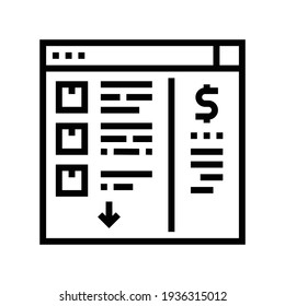 needs recognition line icon vector. needs recognition sign. isolated contour symbol black illustration
