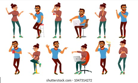 Negativity Expressing People Set Vector. Male, Female Character. Thumbs Down. Vote Finger. Face Palm. Skeptic Man, Woman Negative Emotions, Ignorant, Disliking. Cartoon Illustration