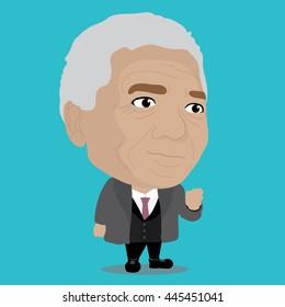 Nelson Mandela Character