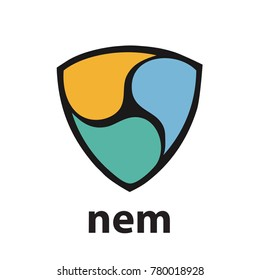 Nem Cryptocurrency Sign