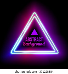 Royalty-Free Neon Triangle Stock Images, Photos & Vectors