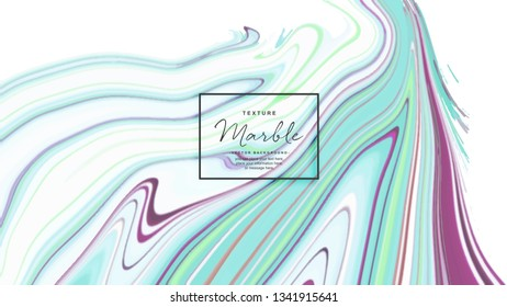 Neon color Marble Textured Vector Background