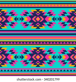 Aztec Print Pattern Stock Vectors Images Vector Art